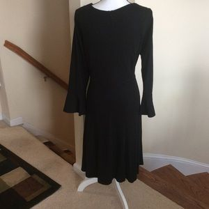 Eloquii Dresses - ELOQUII Black Dress with Bell sleeves